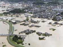 Waspada Banjir & Longsor, Jepang Evakuasi Warga