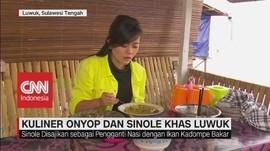 VIDEO: Kuliner Onyop dan Sinole Khas Luwuk