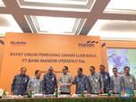 Jajaran Direksi Bertahan, Saham Bank Mandiri Diborong Asing