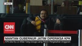 VIDEO: Mantan Gubernur Jatim Soekarwo Diperiksa KPK