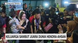 VIDEO: Kado Spesial dari Istri & Anak untuk Hendra/Ahsan