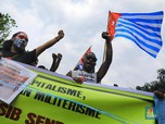 Kibarkan Bendera Bintang Kejora, Pemuda Papua Demo di Jakarta