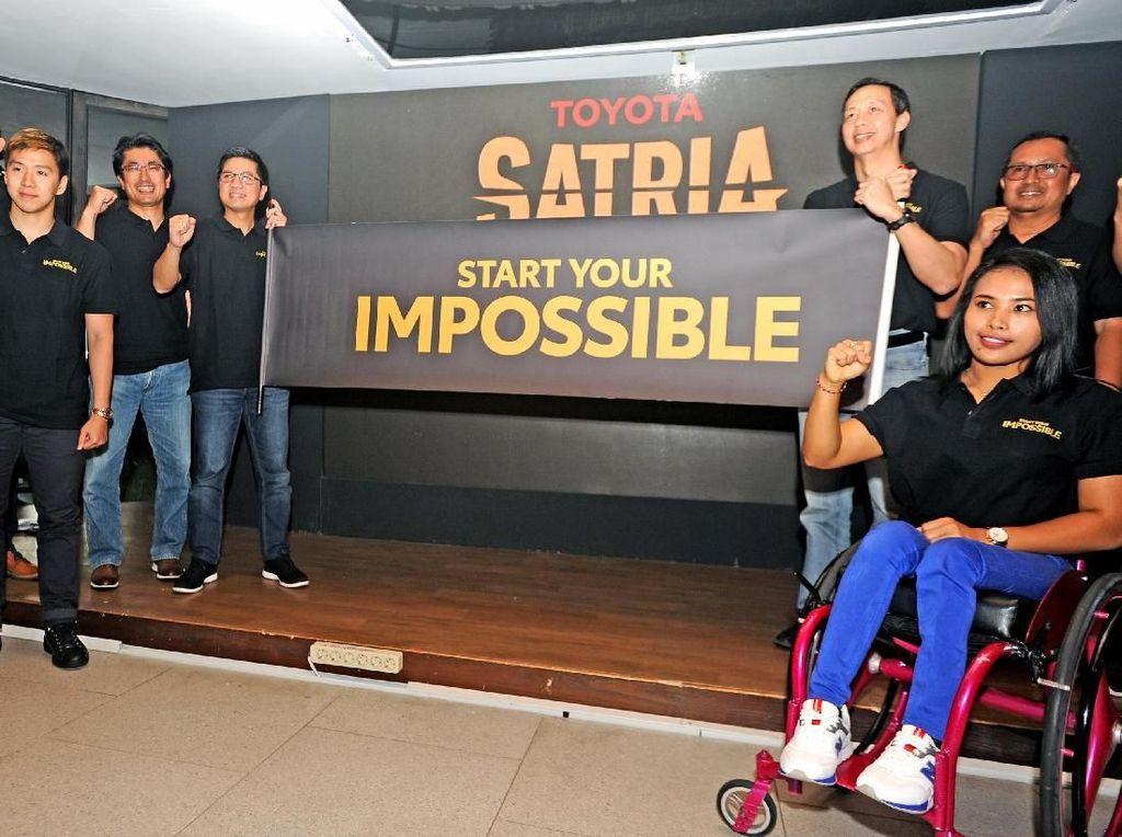 Program ini sebagai kontribusi konkrit untuk memajukan dunia olahraga nasional. Lewat kampanye program Start Your Impossible Toyota yang diperkenalkan di Jakarta, Rabu (28/8/2019), diharapkan bisa mencari bibit olahragawan yang dibantu oleh para atlet dan mantan atlet nasional sebagai mentor dan advisor. Foto: dok. TAM