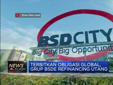 Refinancing Utang, Grup BSDE Terbitkan Obligasi Global