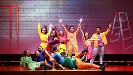 FOTO: Aksi Anak Muda Indonesia Usai Timba Ilmu di Broadway