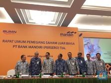 Direksi Tak Dirombak, Saham Bank Mandiri Naik Pasca-RUPSLB