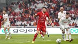 Hasil Liga 1 2019: Persija Menang Tipis Atas PSIS
