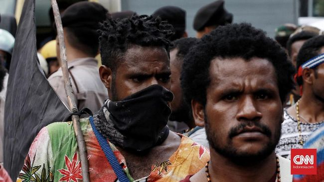 Mahasiswa Papua Gelar Aksi di Surabaya, Bawa Isu HAM dan KPK
