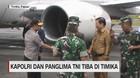 VIDEO: Kapolri & Panglima TNI Tiba di Timika