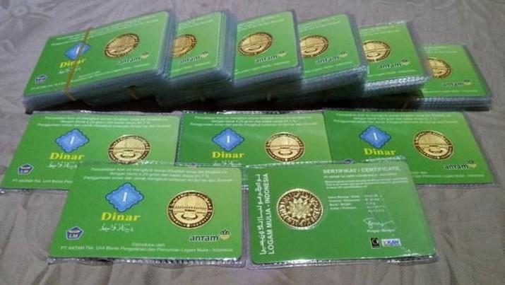 Ikuti Emas Dunia, Harga Koin Dinar Naik 1%