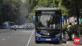 28 Merek Bersaing Ikut Program Bus Listrik Transjakarta