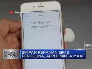 Simpan Rekaman Siri & Pengguna, Apple Minta Maaf