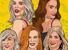 Catat, Ini 10 Artis Wanita dengan Bayaran Termahal di Dunia
