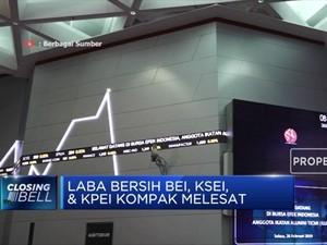 Laba Bersih BEI, KSEI, & KPEI Kompak Melesat