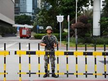 Demo Masih Membara, China Kirim Pasukan Baru ke Hong Kong