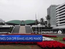 DPR dan Pemerintah Sepakati Asumsi Makro