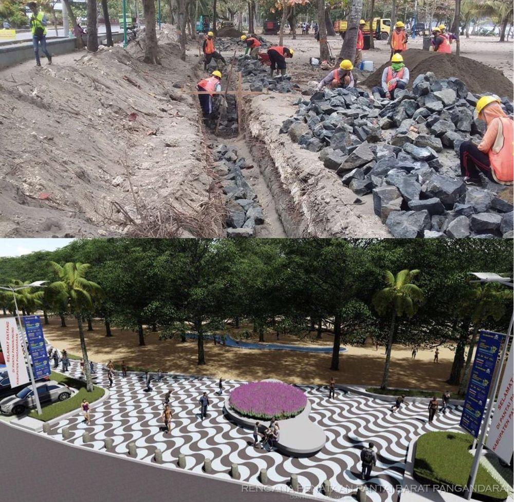 Pelaksanaan proyek pembangunan ini dikerjakan 120 hari masa kerja atau terhitung mulai tanggal 13 Agustus 2019 hingga 10 Desember 2019.