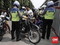 Langgar Jalur Sepeda, 35 Pengendara di Jakbar Ditilang