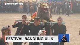 VIDEO: Ribuan Anak Ramaikan Festival Bandung Ulin