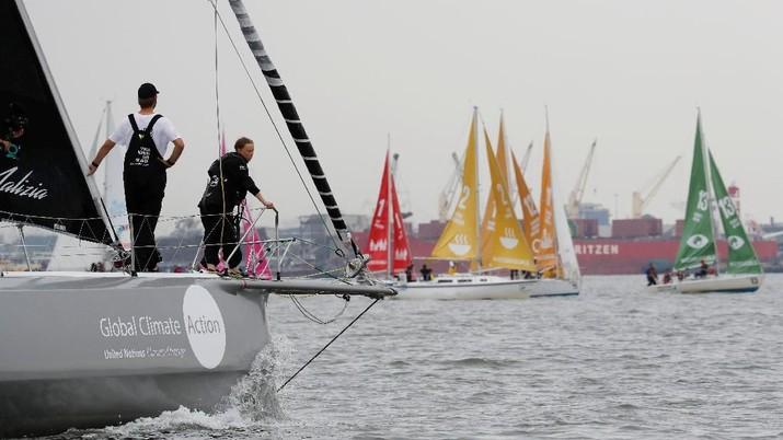 Ke PBB, Pelajar 16 Tahun Ini Berlayar Lintasi Laut Atlantik