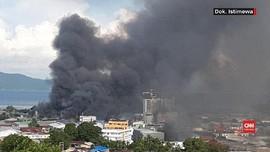 VIDEO: PLN Putus Aliran Listrik di Jayapura Saat Rusuh