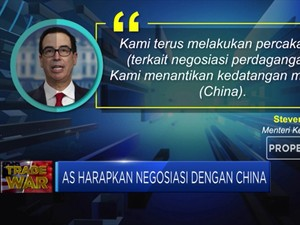 AS Nantikan Tim China ke Washington Bahas Nego Dagang