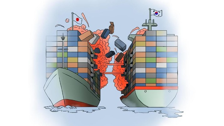 Perang Dagang Korsel-Jepang, WTO Berpihak ke Tokyo