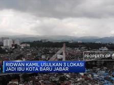 Ridwan Kamil Ingin Pindahkan Ibu Kota Jawa Barat