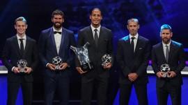 Daftar Lengkap Penghargaan UEFA
