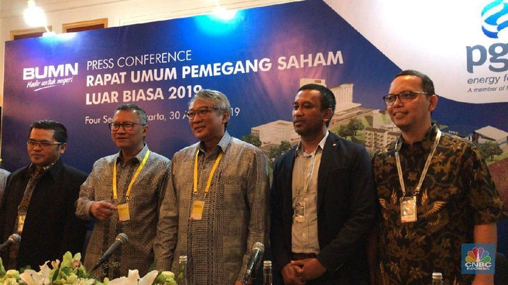 Tak Lagi Direktur di PGN, Said Reza Pindah ke Pertamina