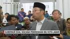 VIDEO: Ridwan Kamil Soal Wacana Pemindahan Ibu Kota Jabar