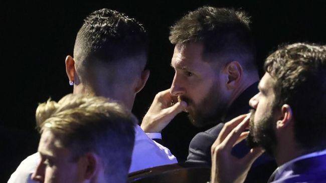 Ronaldo dan Messi Saling Puji di Grimaldi Forum