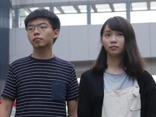 Ini Joshua Wong & Agnes Chow, Milenial Pimpin Demo Hong Kong