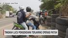 VIDEO: Tingkah Lucu Pengendara Terjaring Operasi Patuh
