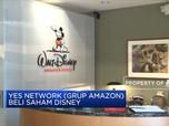 Disney Lepas Saham ke Amazon Senilai USD 3,37 M