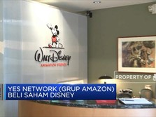 Disney Lepas Saham ke Amazon Senilai USD 3,37 M