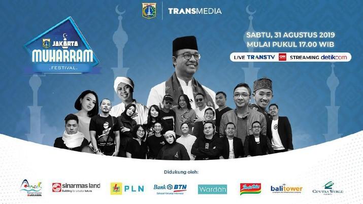 Warga Jakarta dan sekitarnya yang ingin ikut memeriahkan Malam Tahun Baru Islam bisa datang ke pagelaran Jakarta Muharram Festival 2019.