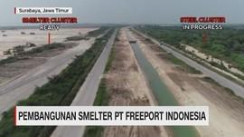 VIDEO: Pembangunan Smelter PT Freeport Indonesia
