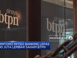 Sumitomo Mitsui Banking Lepas Saham di BTPN