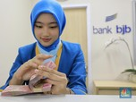 Asing Borong Saham BJB, Harganya Melesat 4,13%