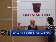 PGN Bakal Akuisisi Anak Usaha Krakatau Steel