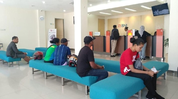 Bank Negara Indonesia (BNI) membuka layanan Weekend Banking di Jayapura, Papua pada akhir pekan ini