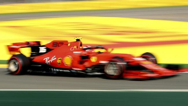 Kalahkan Vettel, Leclerc Pole Position di F1 GP Belgia