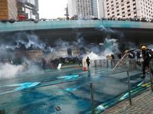 Rusuh & Demo, Hong Kong Lebih Layak Huni Dibanding Jakarta