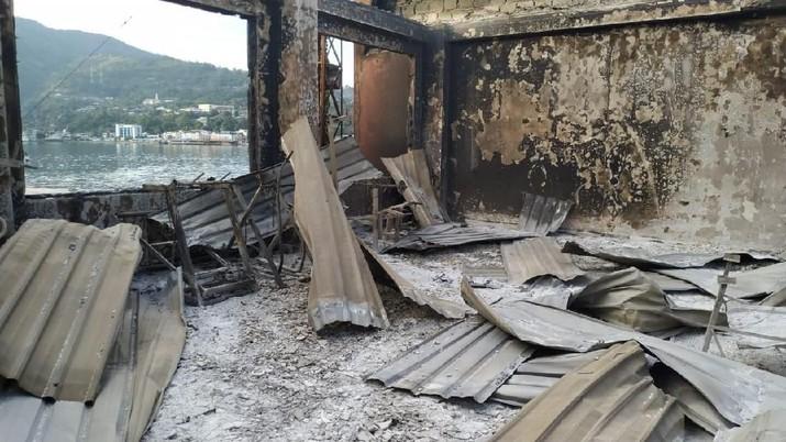 Kota Jayapura, Papua sempat lumpuh pasca aksi unjuk rasa yang berujung kericuhan.