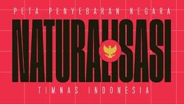 Edusports: Peta Penyebaran Naturalisasi Timnas Indonesia