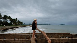 Wisatawan di Bahama Diminta Berlindung dari Badai Dorian