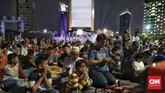 Pemprov DKI Jakarta bekerja sama dengan Transmedia Group menggelar Jakarta Muharram Festival dalam rangka merayakan penggantian tahun hijriah, Sabtu (31/8). (CNN Indonesia/Bisma Septalisma)