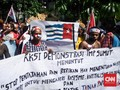 Mahasiswa Papua di Medan Protes Pemblokiran Internet