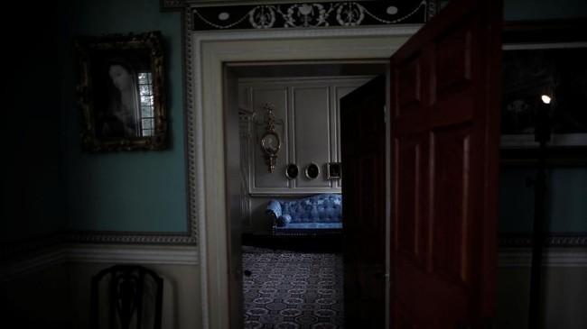 Demikian pula kamar yang terdapat di Mount Vernon, rumah dari George Washington, presiden pertama AS, di Fairfax County, Virginia, AS, yang dibangun oleh para budak. (REUTERS/Carlos Barria)